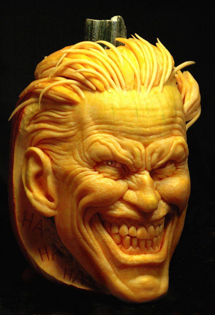 Villainous Joker Pumpkin by Andy Bergholtz