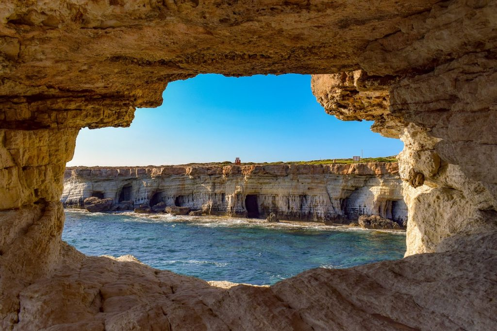 Sea Caves, Cyprus